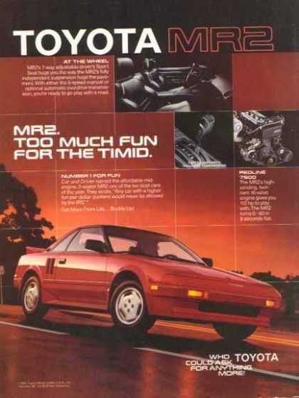 Toyota MR2 (1986)