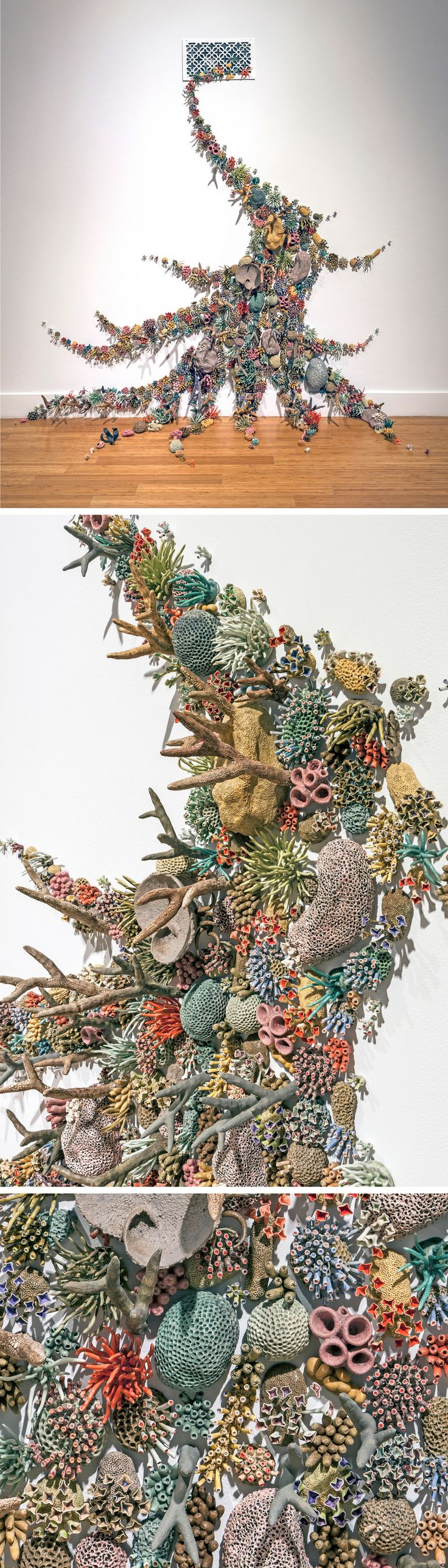 New Ceramic Coral Reefs by Courtney Mattison Draw Attention to Earth's Changing Oceans