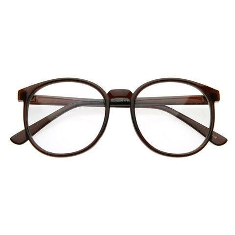 overview vintage inspired round wayfarer glasses with a modern stylish appeal measurements 55