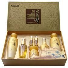 Korean Cosmetics_Chihwaseon Soo Premium Herbal Skin Care 5pc Set by Chihwaseon. $59.99. Various herbal ingredients take good care of women's skin.. CAPACITY  Chihwaseon Soo Skin - 150ml Chihwaseon Soo Emulsion - 150ml Chihwaseon Soo Cream - 60g Chihwaseon Soo Essence - 40ml Chihwaseon Soo Eye Cream - 40ml