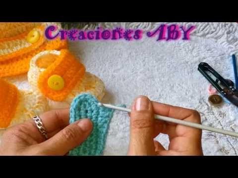Zapatitos Tipo Botin y Gorro Para Bebes TALLA 3 MESES - YouTube