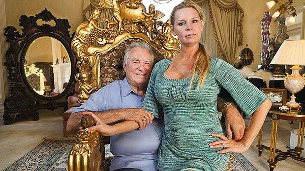 Building a $US100m home ... David  and Jackie Siegel.