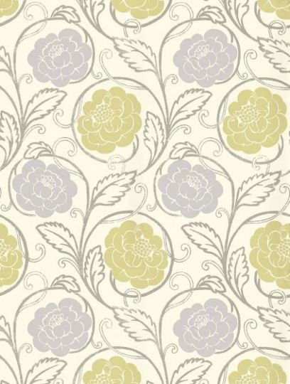 Thibaut's Morristown is taken from the Avalon wallpaper collection and is in stock and available for purchase.