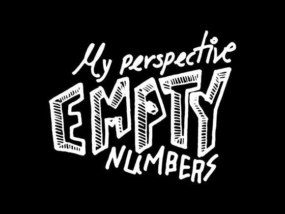 Empty numbers illustrations by george.nikolaidis on @creativemarket