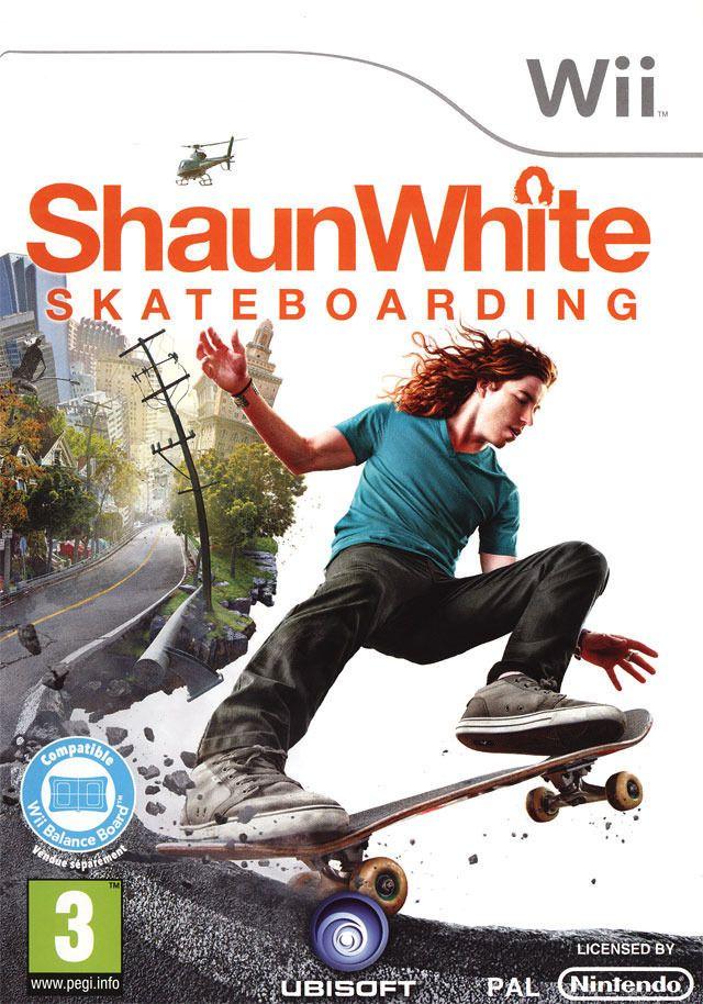 SHAUNWHITE SKATEBOARDING   NINTENDO WII  usato