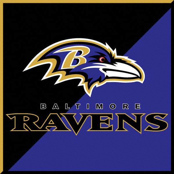 Ravens poker table