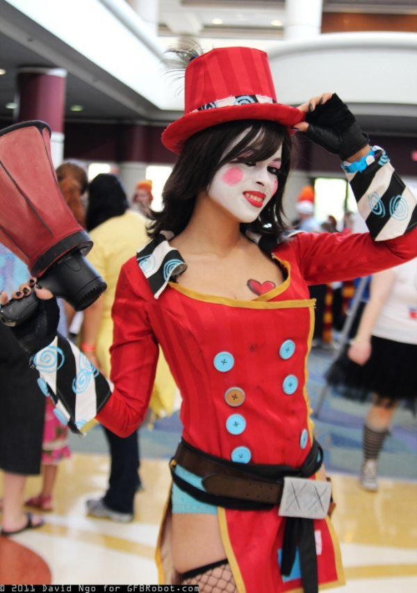 Mad Moxxi borderlands Geek girls, Steampunk cosplay