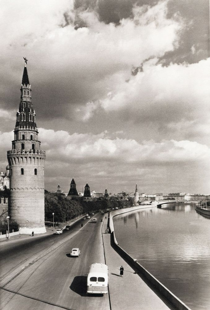 Kremlin embankment, 1958