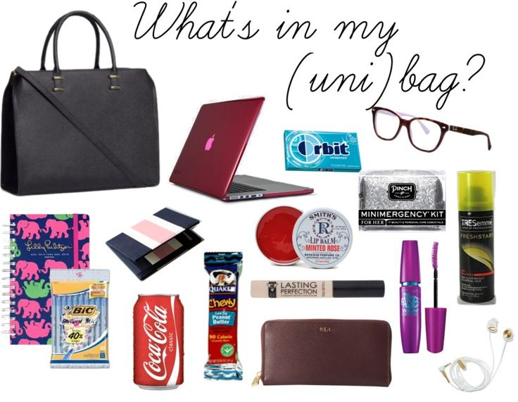 What's in My Uni Bag?