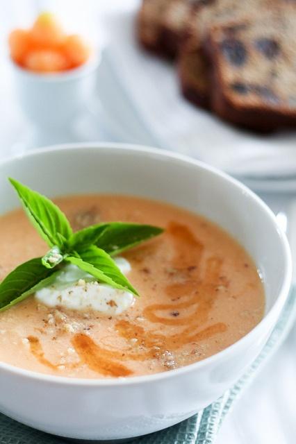 Chilled Cantaloupe Soup-7 .... Healthy Soup Recipes 4 You.... #soup # ...