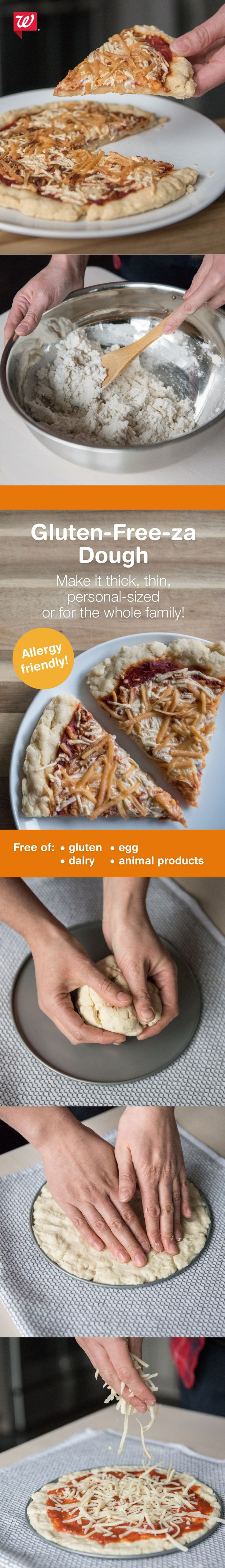 Pizza dough that everyone can enjoy! Try this yummy gluten-free recipe on our Stay Well blog.