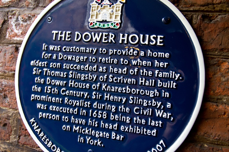 Dower House - a little bit of history