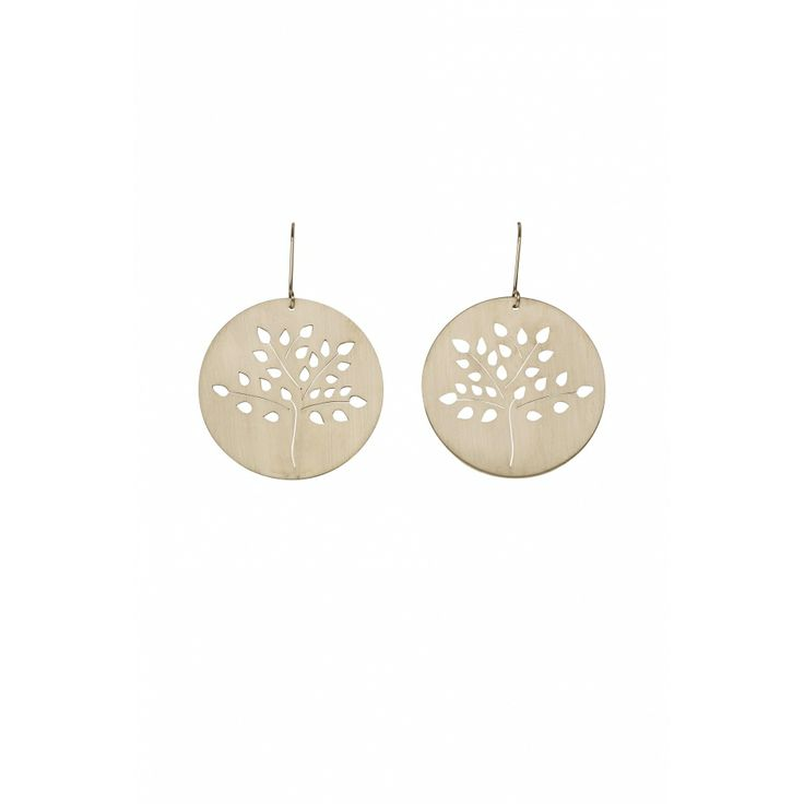 Gold Apple Tree Earrings | Collections | Elk Accessories