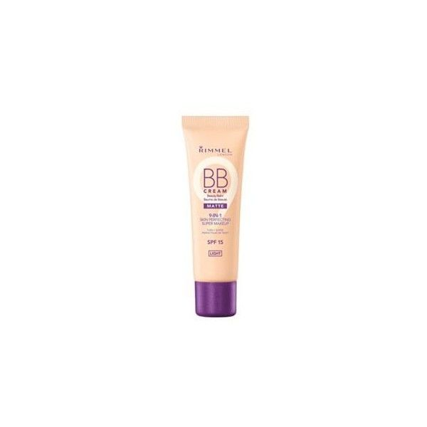Rimmel London BB Cream Matte (13 CAD) ❤ liked on Polyvore featuring beauty products