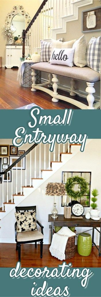 Small Foyer Decorating Ideas - How to decorate a small foyer or apartment entryway
