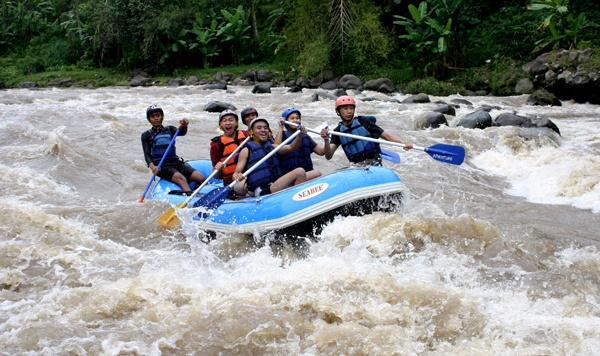 CITRA ELO.  Need cool and exciting tour to share with your family and colleagues? Come and enjoy CitraElo's adventour sensation! Whitewater rafting, outdoor games (airsoft games, paintball and flying fox), management training and riverside restaurant.