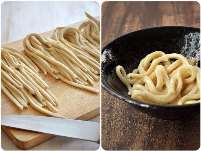 recette de pâte pour Udon, à la farine de blé tendre (froment)