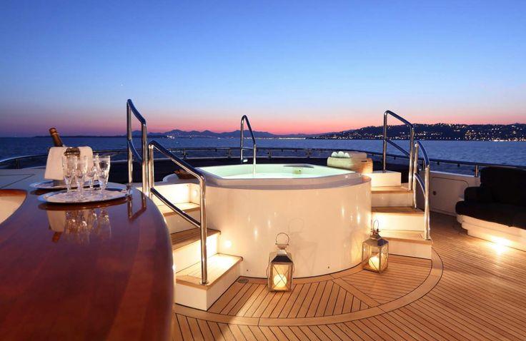 The 51 meter CBI motor yacht Alibi