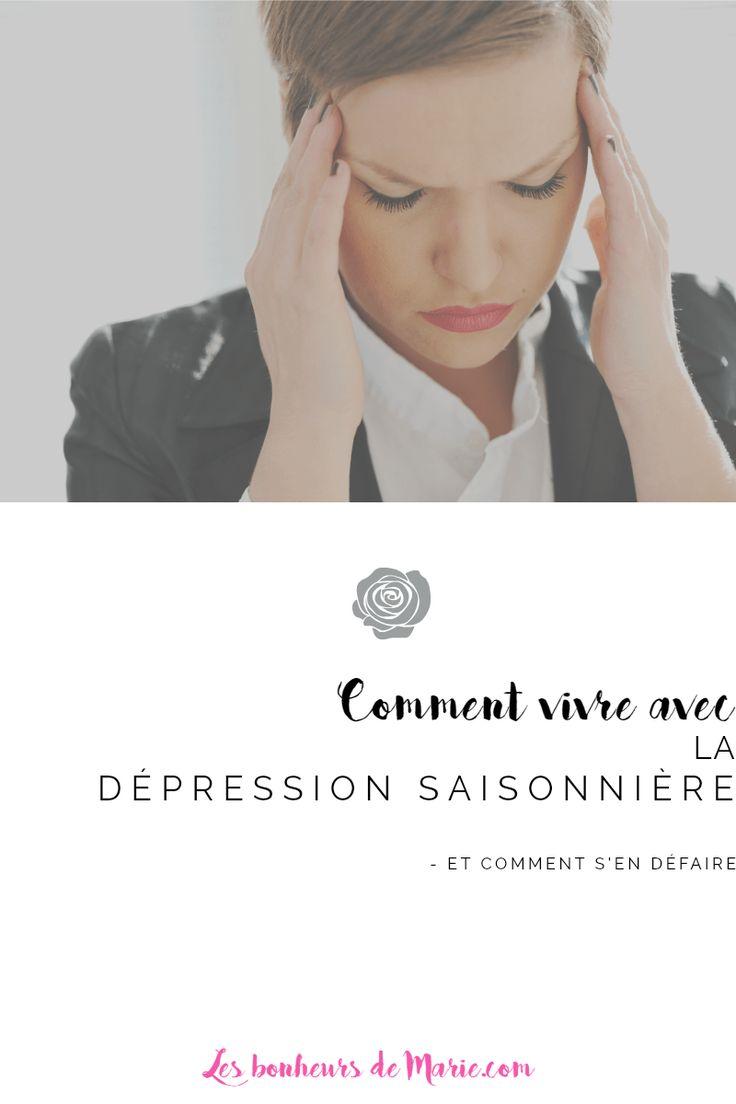 La dépression saisonnière, ça peut être un fléau pour la personne qui la vit ... et son entourage. Comment reconnait-t-on ses symptômes?