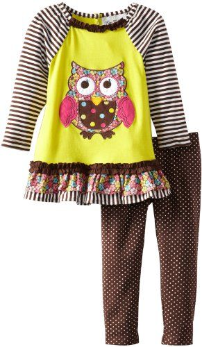 Rare Editions Toddler Girls Owl Legging Set, Yellow/Lime/Brown, 4T Rare Editions,http://www.amazon.com/dp/B00CV30BPS/ref=cm_sw_r_pi_dp_JLGCsb1R5DJZDPEN