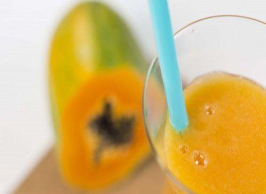 Salud al Día: Zumo de plátano, papaya y naranja para reducir el ...