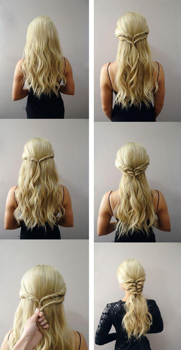 Deja que Khaleesi sea tu inspiración. | 19 Peinados trendy que necesitas para graduarte con estilo