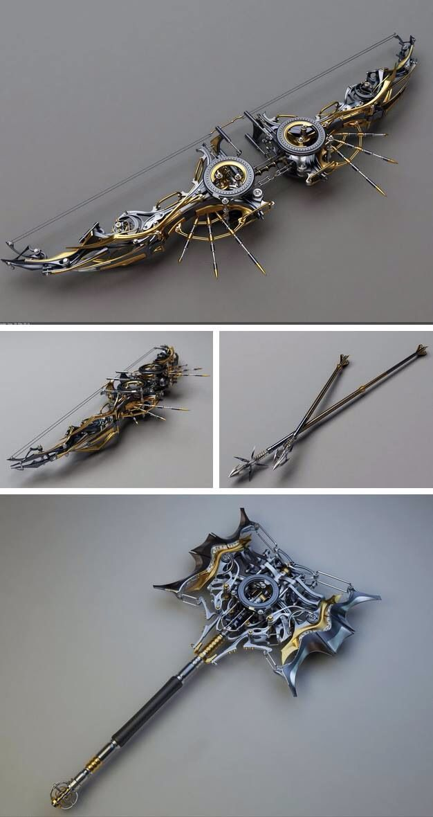 Steampunk Weapon #24 by Olteanu Alexandru…                              …