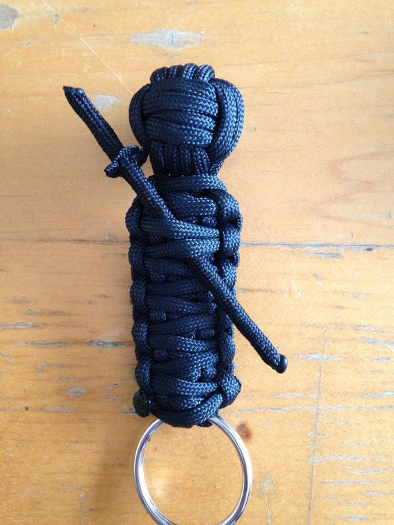 Custom Paracord Ninja Keychain | Paracord | Pinterest | Paracord, Etsy and Paracord projects