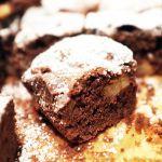 Brownies mit Apfel und Walnüssen   Madame Cuisine Rezept