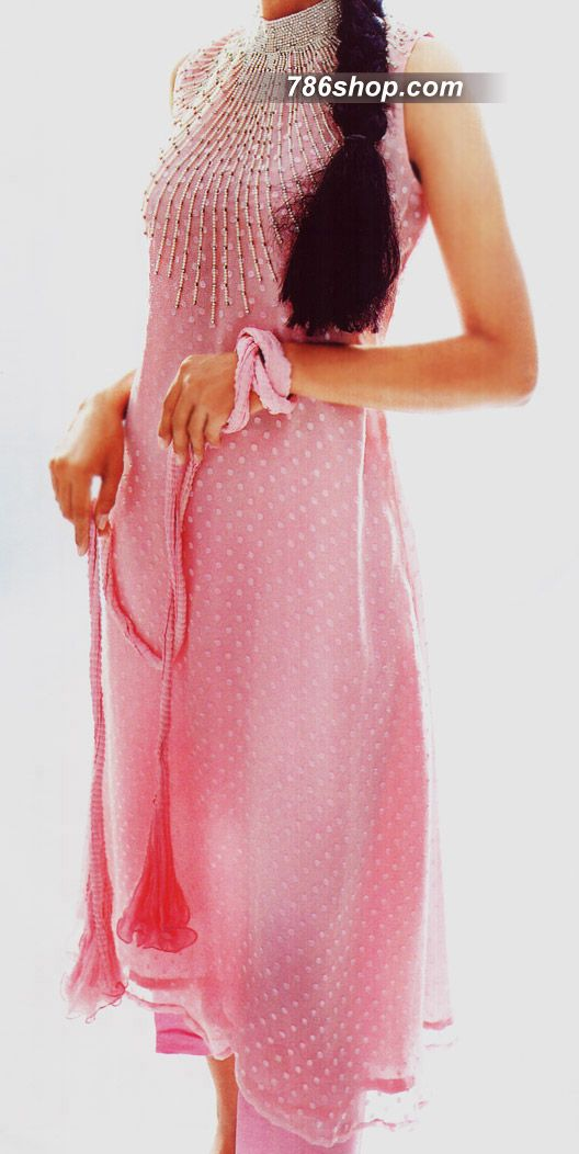 Pink kurta and chudidhaar. Gorgeous dress
