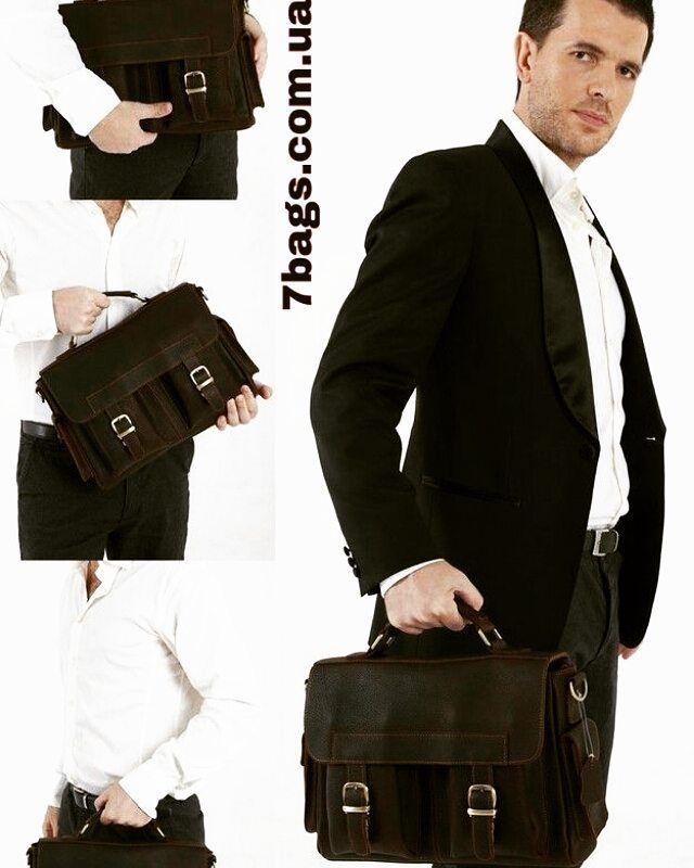 Деловой мужской портфель  из масленной кожи 6037 за 2783грн (100уе). Всего 100 долларов а вы выглядите на цклый миллион.  7bags.com.ua