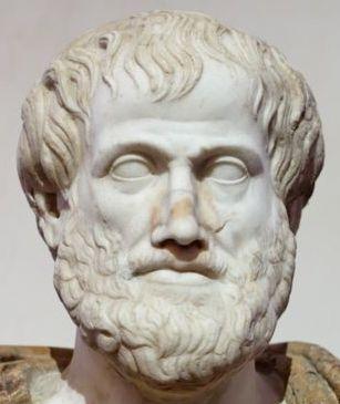 Aristóteles (Estagira, 384 a.C. — Atenas, 322 a.C.) filósofo grego, aluno de Platão e professor de Alexandre, o Grande. A física, a metafísica, as leis da poesia e do drama, a música, a lógica, a retórica, o governo, a ética, a biologia e a zoologia. Juntamente com Platão e Sócrates (professor de Platão), Aristóteles é visto como um dos fundadores da filosofia ocidental. Em 343 a.C. torna-se tutor de Alexandre da Macedónia, na época com treze anos de idade.