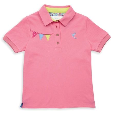 Kite Pink Bunting Polo Shirt
