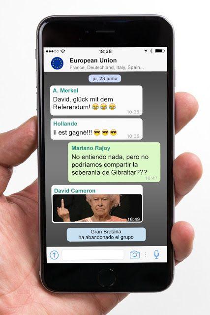 Oriol Bargalló: Brexit por whatsapp