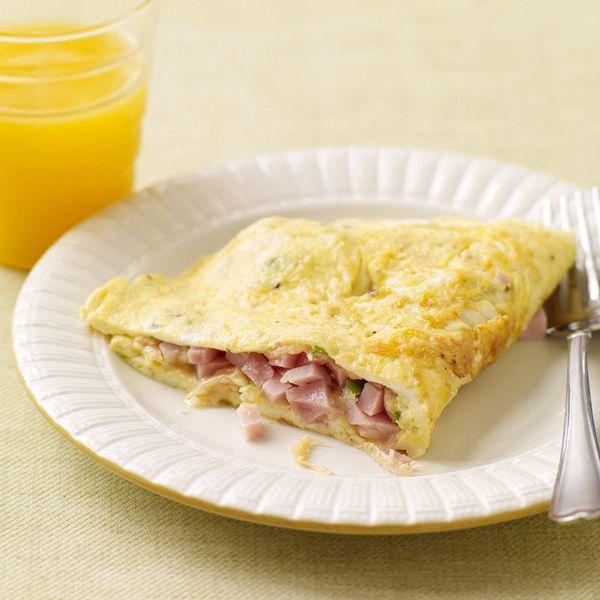 WeightWatchers.fr : recette Weight Watchers - Omelette jambon fromage