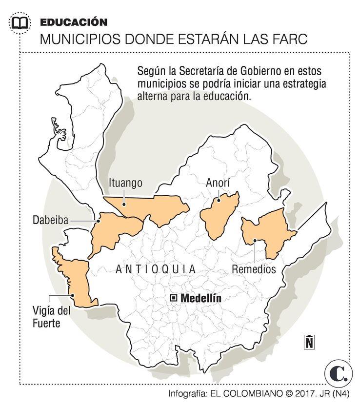 Alternativas educativas en zonas donde se concentrarán las Farc