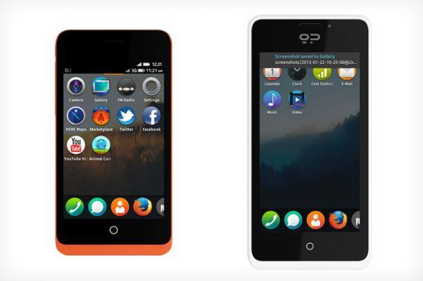 Firefox OS se dote de deux smartphones pour les développeurs