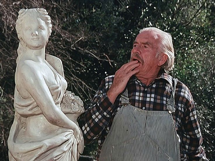 Grandpa and the statue
