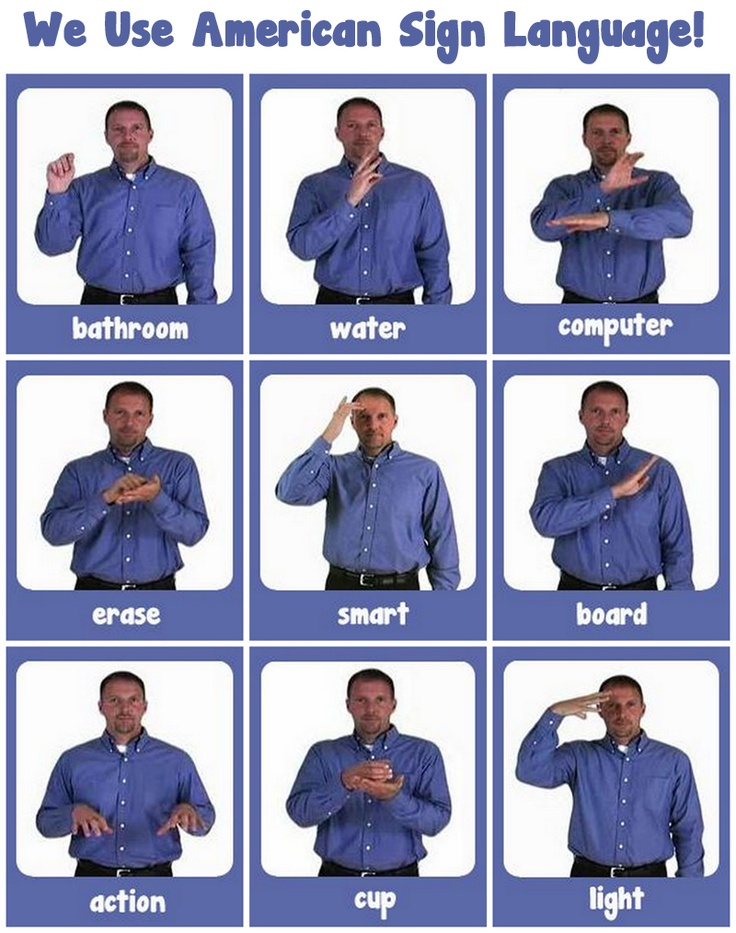 17 Best Images About Sign Language On Pinterest