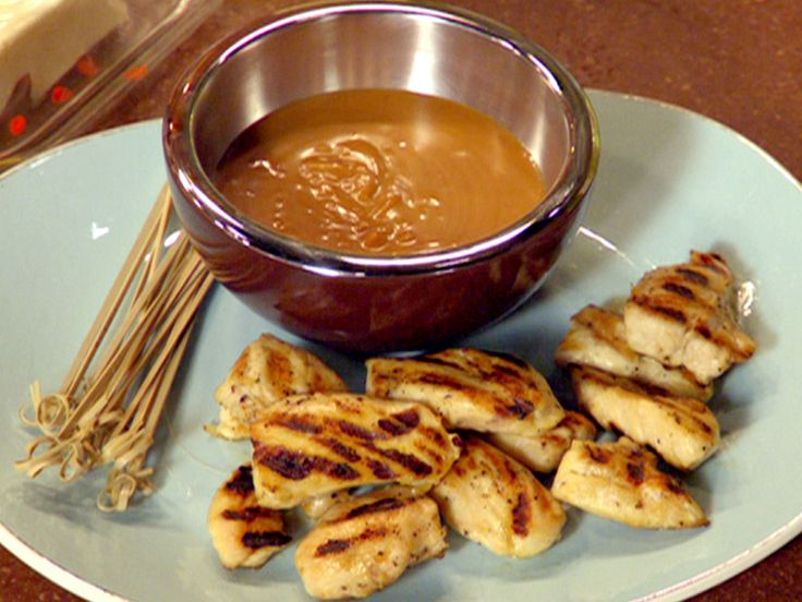 Chicken Satay recipe from 30 Minute Meals via Food Network