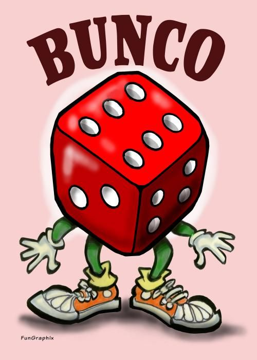 Bunco once a month with my girls