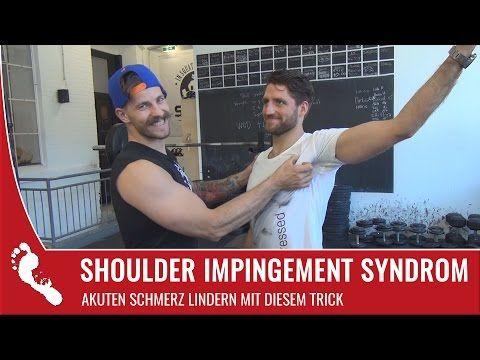 Shoulder Impingement Syndrom | Akuten Schmerz lindern mit diesen Tricks! - YouTube