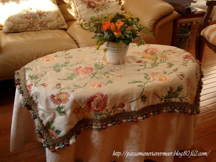 2005年クリスマスフェア・・・「Chez Mimosa シェ ミモザ」 ~Tassel&Fringe&Soft furnishingのある暮らし~ フランスやイタリアのタッセル・フリンジ・ファブリック・小家具などのソフトファニッシングで、暮らしを彩りましょう http://passamaneriavermeer.blog80.fc2.com/