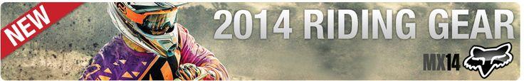 2014 Fox Gear | Rocky Mountain ATV/MC #foxracing #foxus #foxwelive #motocrossgear #motocross #mx #dirtbikes #atvs #utvs #trackfashion