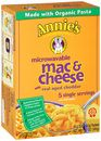 Annie's Microwavable Mac and Cheese - Cups and Pouches
