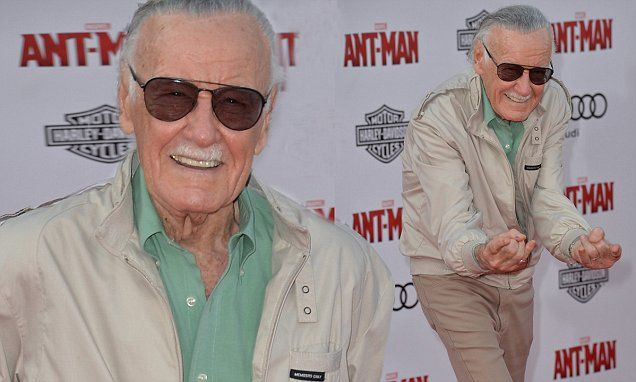 Stan Lee, 92, attends Ant-Man premiere after emergency hospital trip