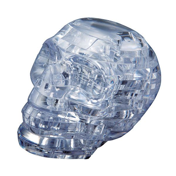 Crystal Puzzle U-Clear Skull 3D