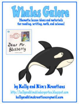 Whales Galore includes several whale and ocean-themed activities in reading, math, and science for your kindergarten and first grade classrooms. ...