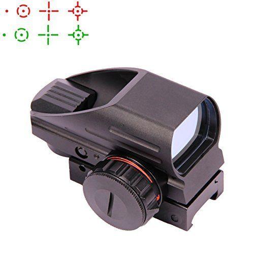 vokul Tactical Multi Optische beschichtet Holografische rot und gr�n Dot Sight Rotpunktvisier (Tactical Reflex 4�verschiedene Modi