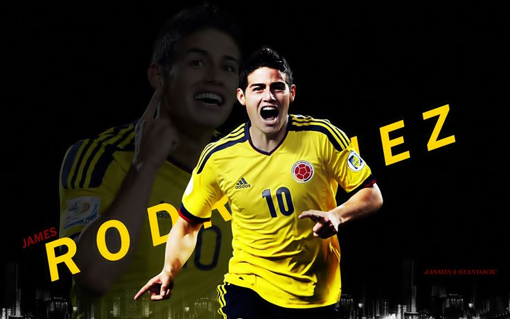 James Rodriguez Colombia football team
